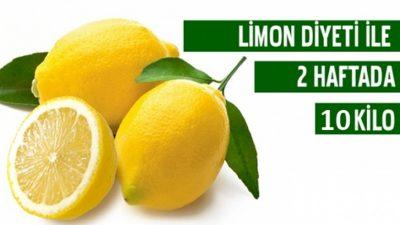 Limon Diyeti Nasıl Yapılır? 2 Haftada 10 Kilo