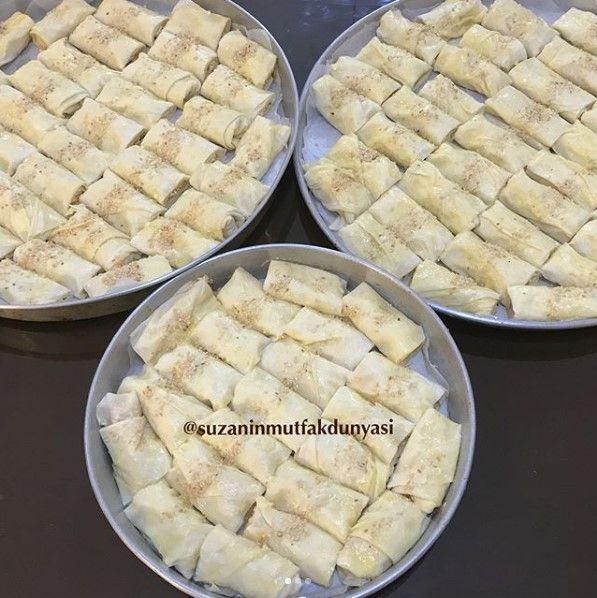 Peynirli Börek Yapımı