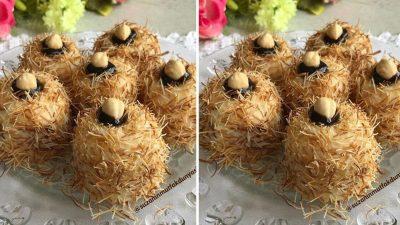 Kadayıflı Muhallebili Fincan Tatlısı