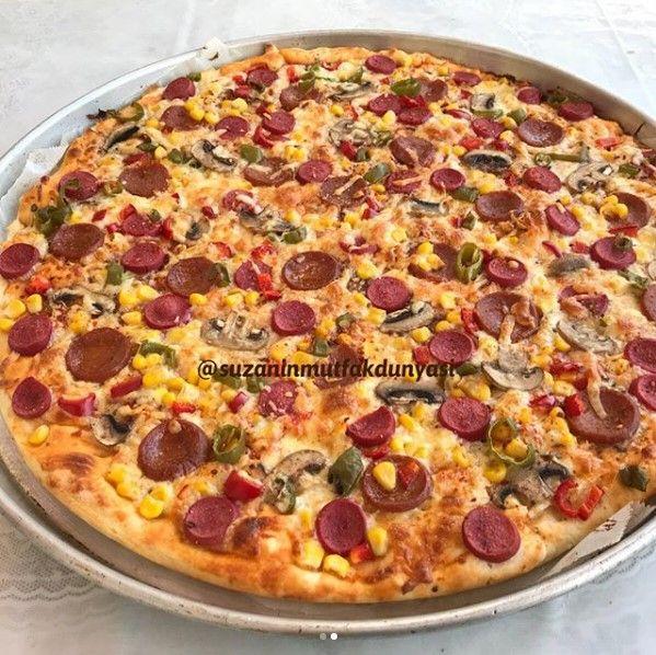 Karışık Pizza Nasıl Yapılır?