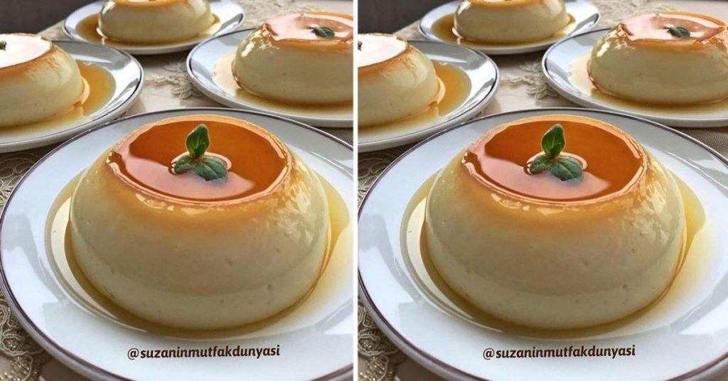 Krem Karamel Tatlısı Tarifi