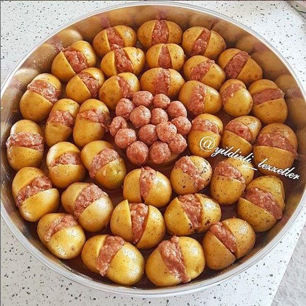 Patates Kebabı Yapımı