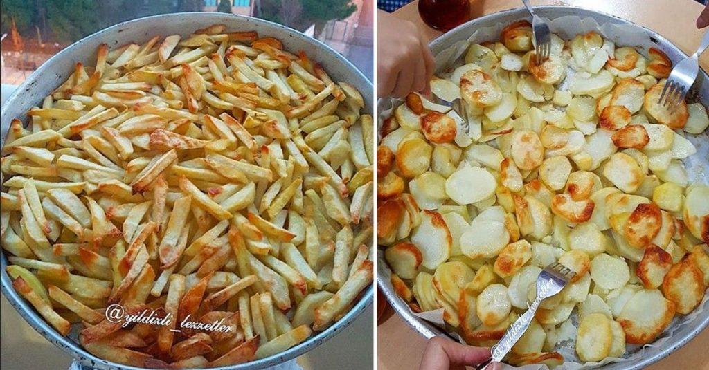 Tepside Tereyağlı Patates