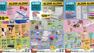 A101 31 Mayıs Kataloğu
