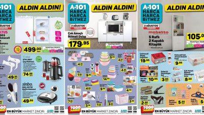A101 2 Ağustos Kataloğu