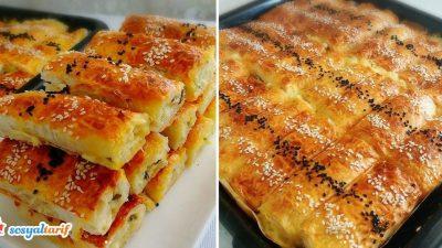 Çıtır Börek Tarifi (Peynirli – Çökelekli)