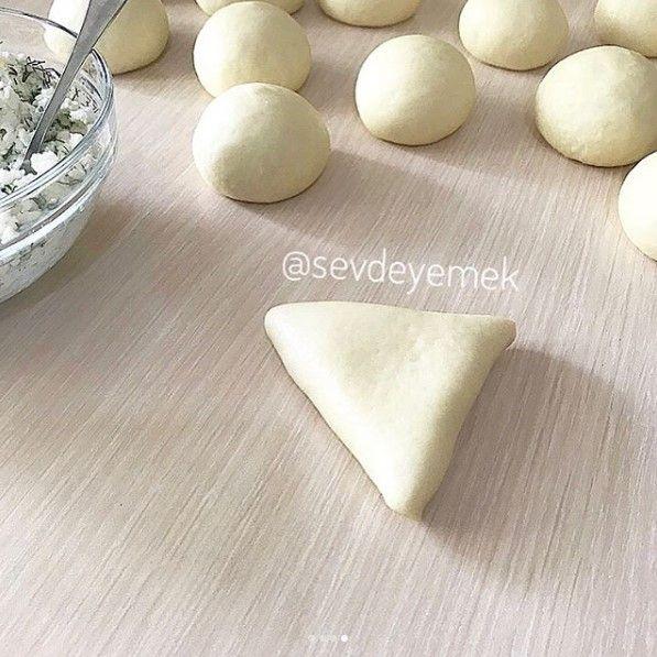 Peynirli Poğaça Yapımı