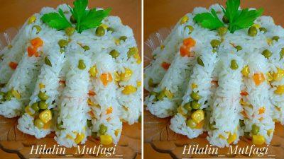 Garnitürlü Tereyağlı Pirinç Pilavı