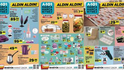 A101 9 Ağustos Kataloğu