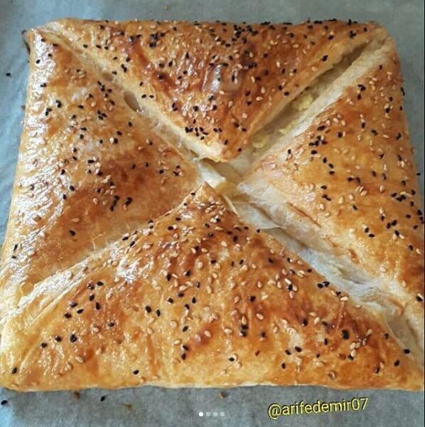 Hazır Yufkadan Zarf Börek