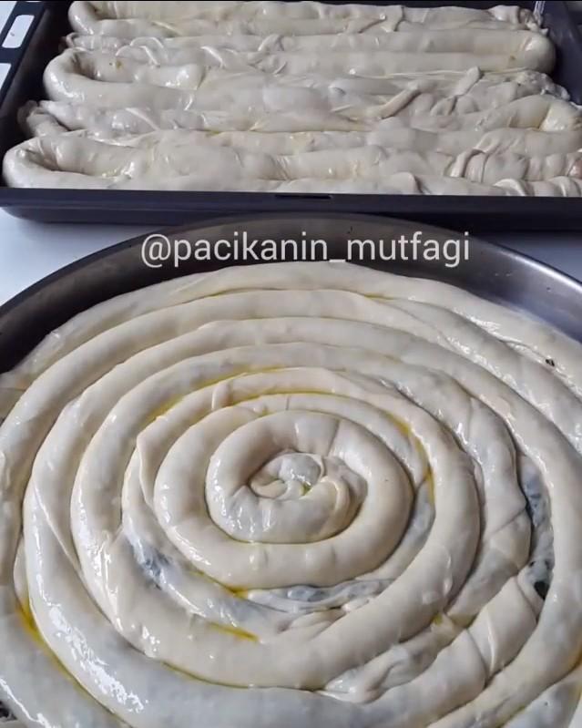 Boşnak Böreği Yapımı