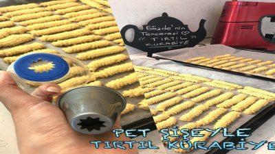 Pet Şişeyle Tırtıl Kurabiye Yapımı