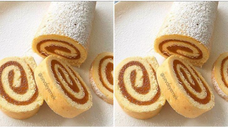 Marmelatlı Rulo Pasta