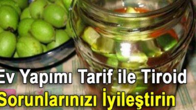 Ev Yapımı Tarif ile Tiroid Sorunlarınızı İyileştirin