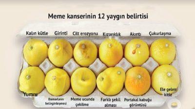 Limonlu Teşhis! Bu Fotoğrafla Kanser Olduğunu Öğrendi