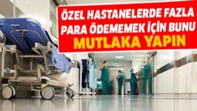 2650 Liralık Hastane Faturası 158 Liraya İndi