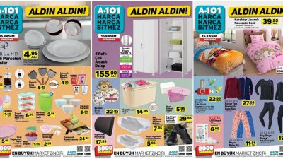 A101 15 Kasım Kataloğu