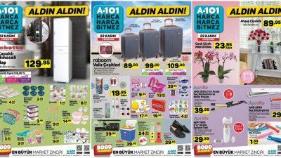 A101 22 Kasım Kataloğu
