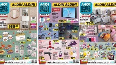 A101 20 Aralık Kataloğu