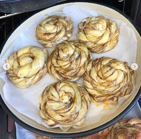 Burma Çörek Yapılışı