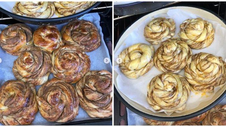 Haşhaşlı Burma Çörek Yapılışı