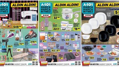 A101 10 Ocak Kataloğu