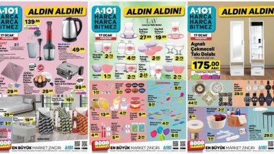 A101 17 Ocak Kataloğu