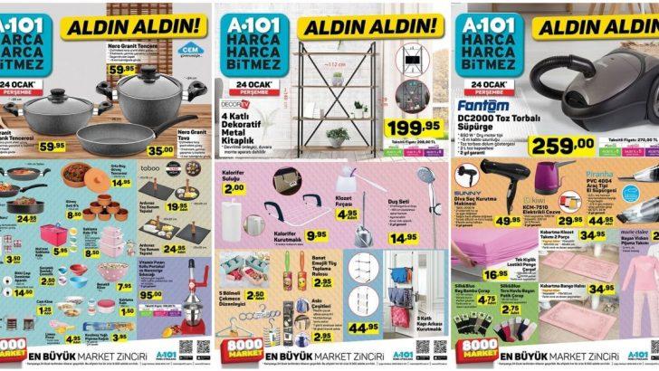 A101 24 Ocak Kataloğu