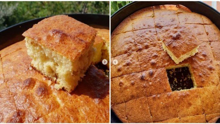 Klasik Limonlu Kek Yapımı