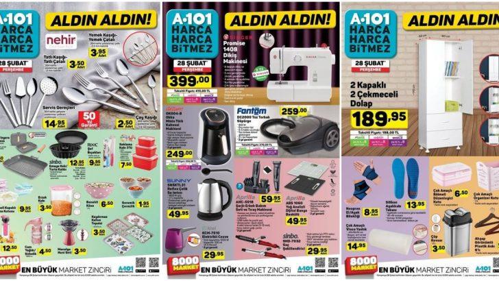 A101 28 Şubat Kataloğu