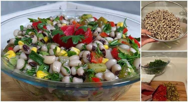 Börülce Salatası Yapılışı