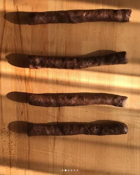 Kakaolu hamur