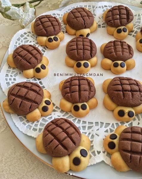 Kaplumbağa kurabiyeler