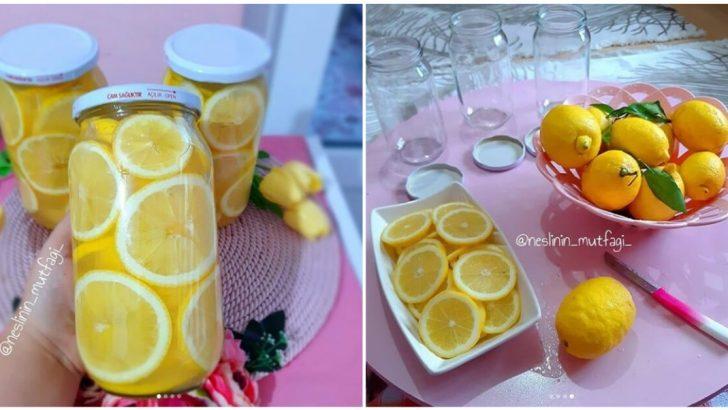 Limon Turşusu Tarifi