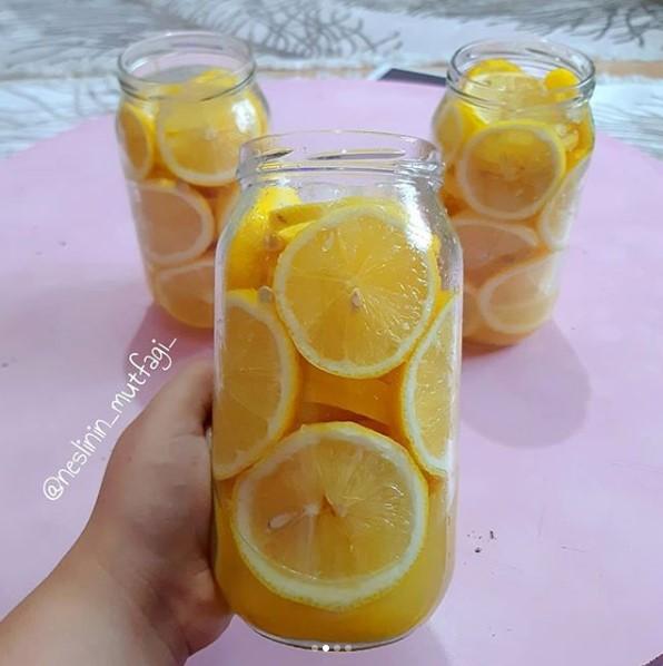 Limon turşusu yapılışı