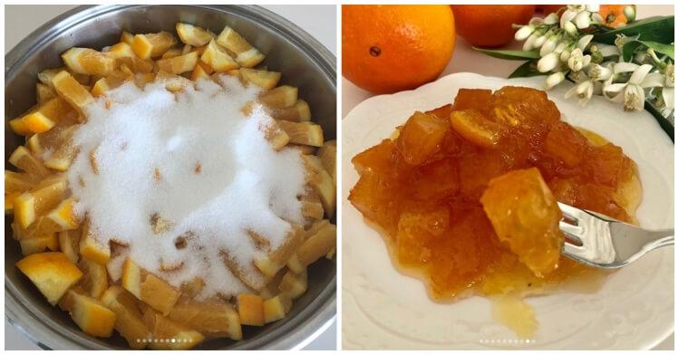 Portakal reçeli püf noktaları