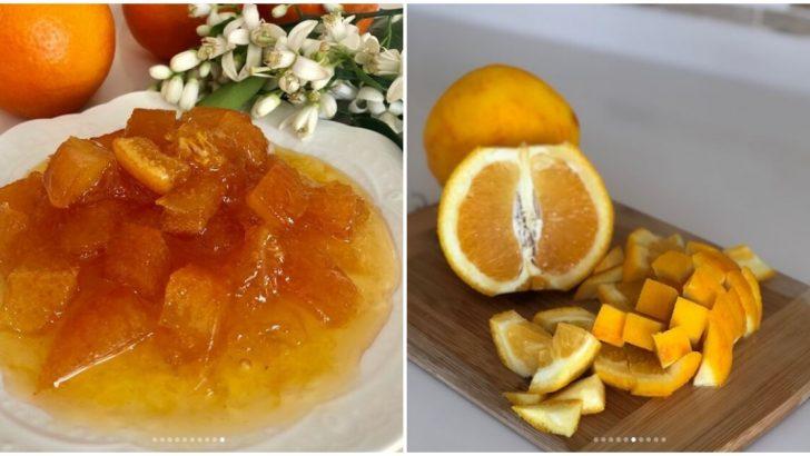 Portakal Reçeli Tarifi ve Püf Noktaları