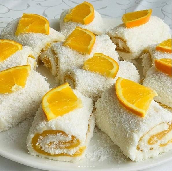 Portakal soslu tatlı yapılışı