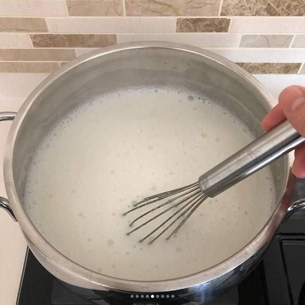Süt reçeli yapımı