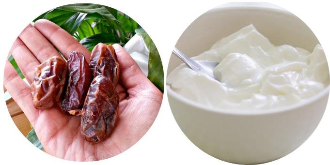 hurma yoğurt tüketimi