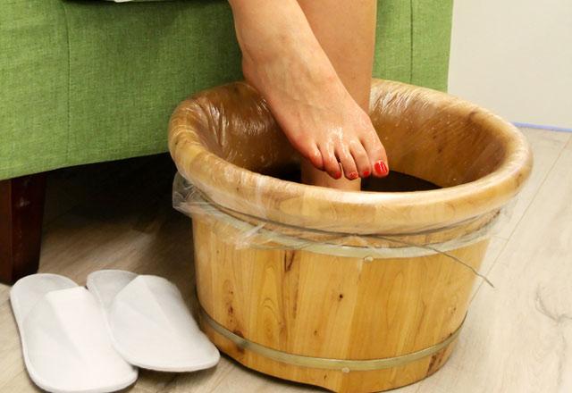 iyonik ayak banyosu