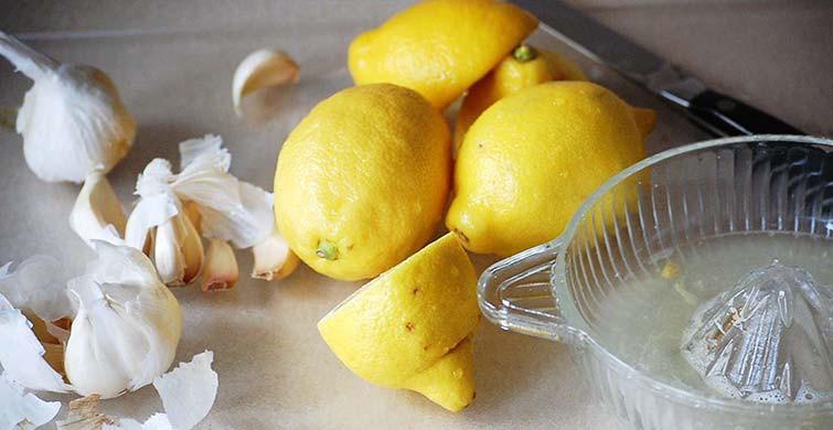 limon sarımsak