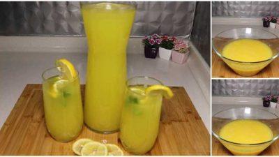 Portakallı Limonlu Kolay Limonata Tarifi