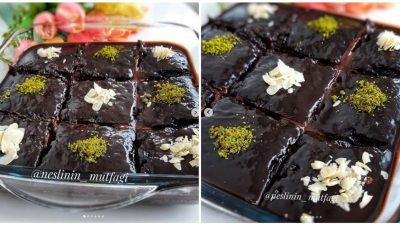 Çikolatalı Islak Kek Yapılışı