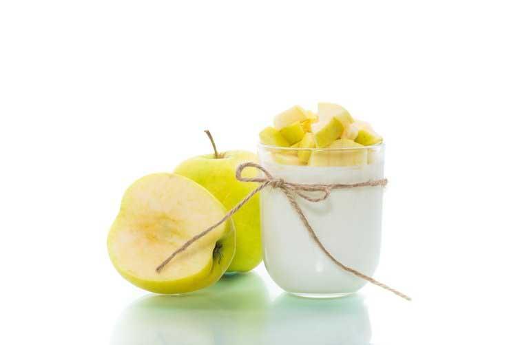 elma yoğurt diyeti