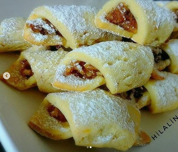 elmalı kurabiye yapımı