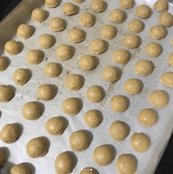 leblebili kurabiye yapılışı