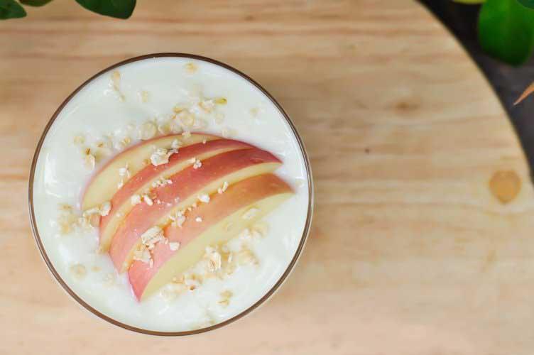 yoğurt elma