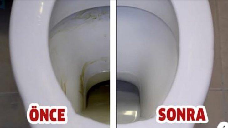 12 Saniyede Tuvalet Pırıl Pırıl Oluyor