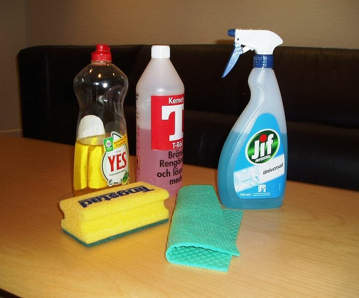 fırın temizleme malzemeleri